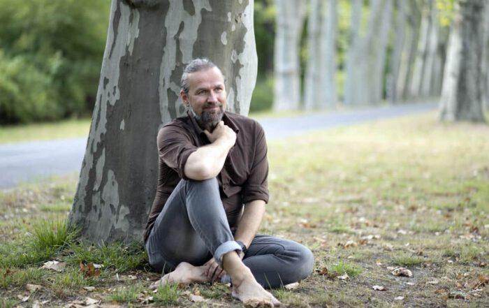 Blitzlichtfoto: Sven Sohr - Professor für Life Coaching