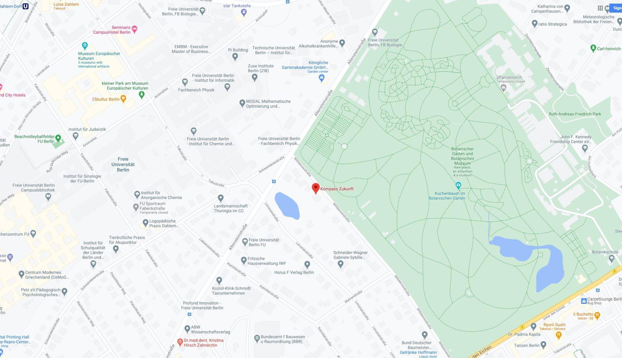 Kompass Zukunft - Willdenowstraße 38, 12203 Berlin